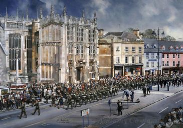 Cirencester Freedom Parade. SOLD